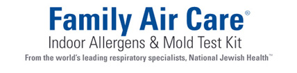 Family Air Care: Indoor Allergens and Mold Test Kit.
